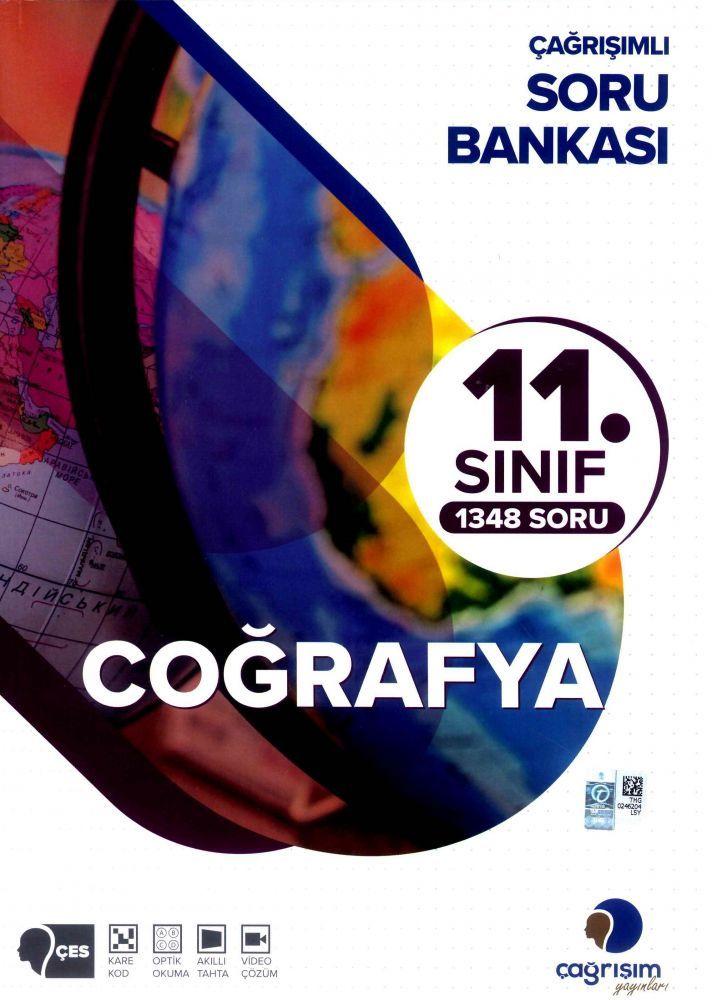 Çağrışım Yayınları 11. Sınıf Coğrafya Soru Bankası