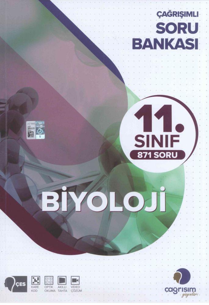 Çağrışım Yayınları 11. Sınıf Biyoloji Soru Bankası