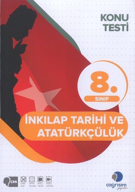 Çağrışım Yayınları 8. Sınıf T.C. İnkılap Tarihi ve Atatürkçülük Konu Testi