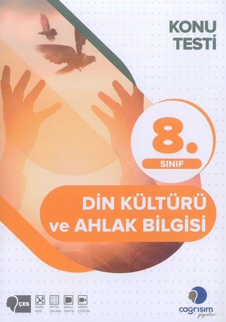 Çağrışım Yayınları 8. Sınıf Din Kültürü ve Ahlak Bilgisi Konu Testi