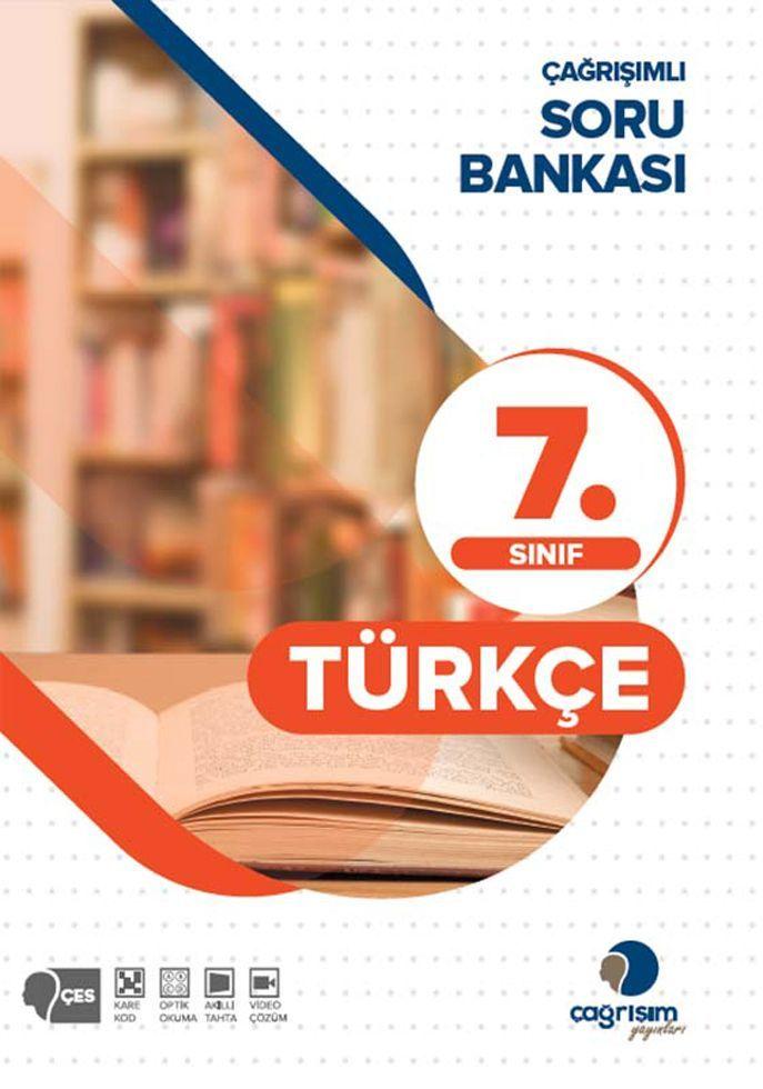 Çağrışım Yayınları 7. Sınıf Türkçe Çağrışımlı Soru Bankası