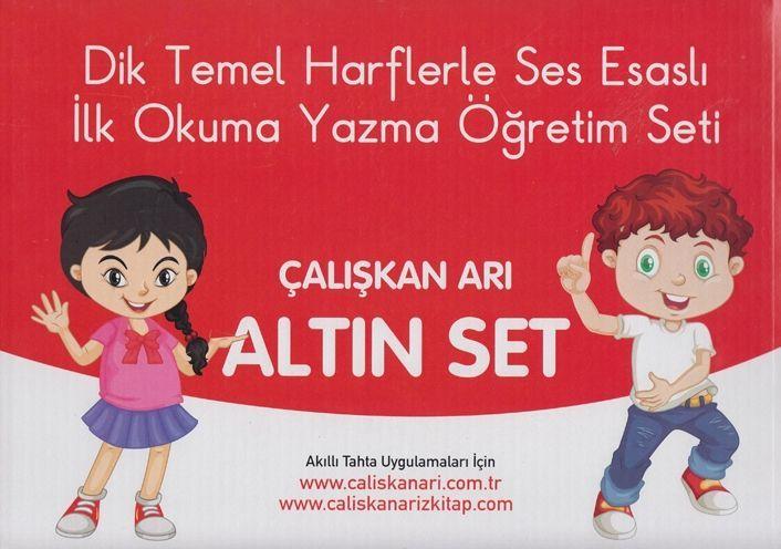 Çalışkan Arı Yayınları İlk Okuma Yazma Öğretim Seti Altın Set