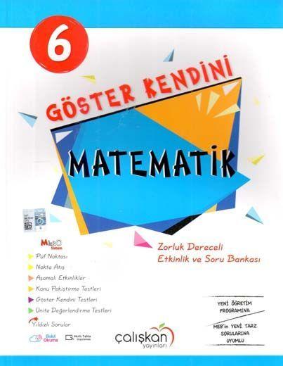 Çalışkan Yayınları 6. Sınıf Göster Kendini Matematik Etkinlik ve Soru Bankası