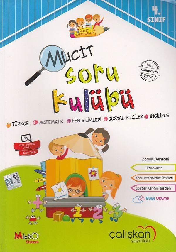 Çalışkan Yayınları  4. Sınıf Tüm Dersler Mucit Soru Kulübü
