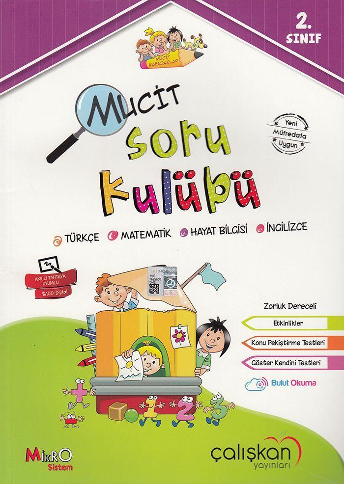 Çalışkan Yayınları  2. Sınıf Tüm Dersler Mucit Soru Kulübü