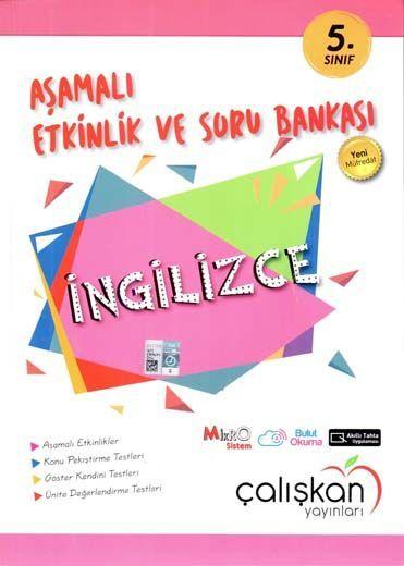 Çalışkan Yayınları 5. Sınıf İngilizce Aşamalı Etkinlik ve Soru Bankası