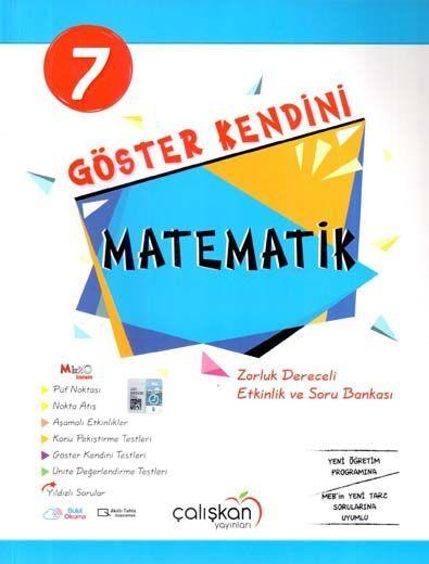 Çalışkan Yayınları 7. Sınıf Matematik Göster Kendini Etkinlik ve Soru Bankası