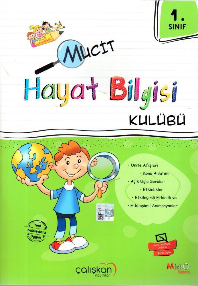 Çalışkan Yayınları 1. Sınıf Mucit Hayat Bilgisi Kulübü