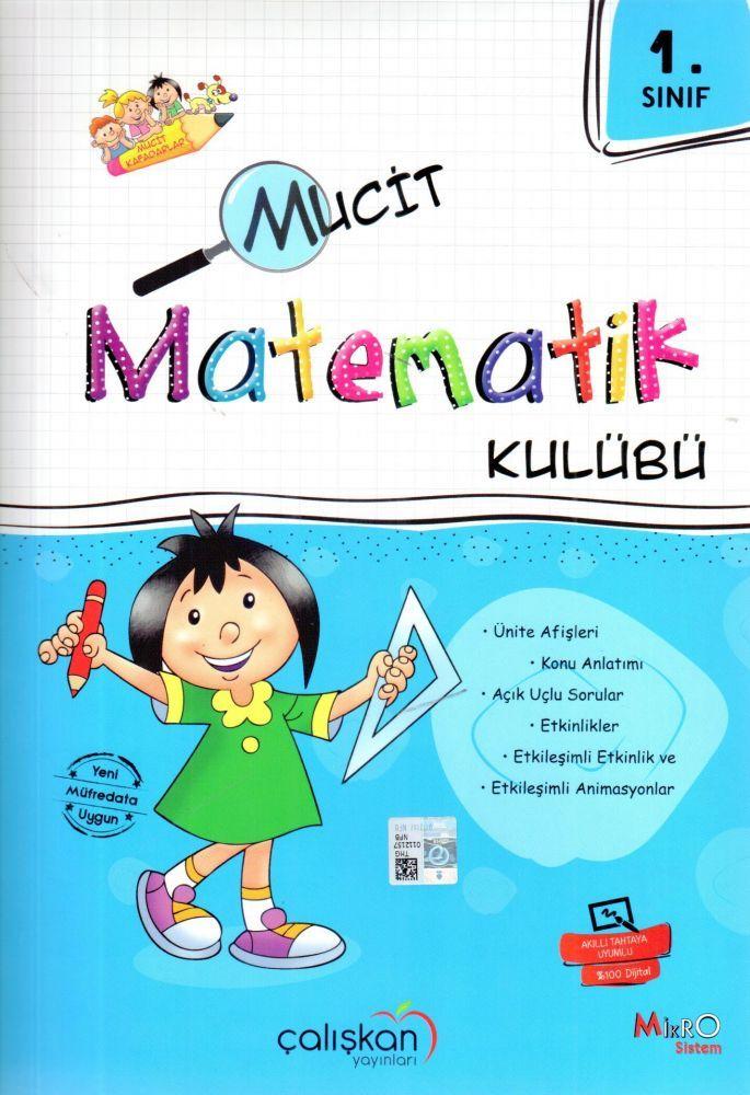 Çalışkan Yayınları 1. Sınıf Mucit Matematik Kulübü
