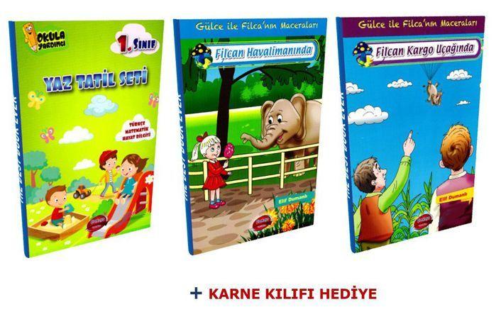 Çankaya Yayınları 1. Sınıf Yaz Tatil Seti