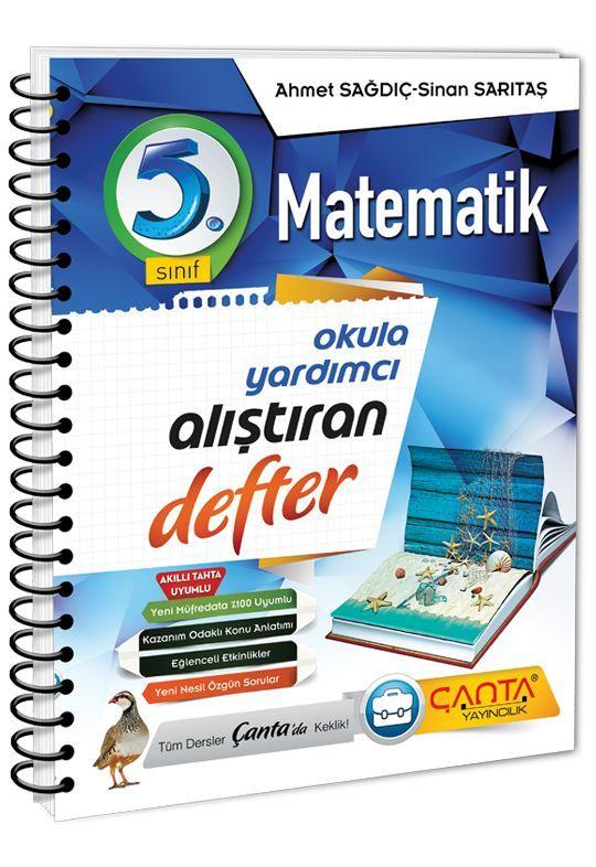 Çanta Yayınları 5. Sınıf Matematik Alıştıran Defter