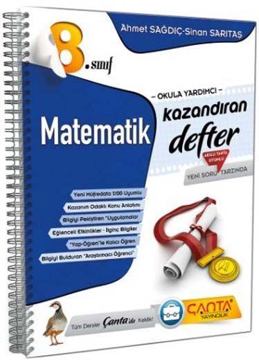 Çanta Yayınları 8. Sınıf Kazandıran Matematik Defter