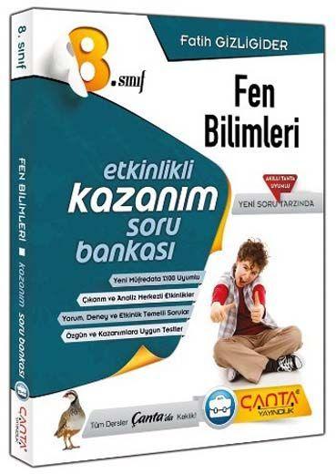 Çanta Yayınları 8. Sınıf Kazandıran Fen Bilimleri Soru Bankası