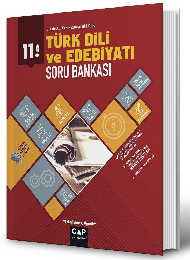 Çap Yayınları 11. Sınıf Anadolu Lisesi Türk Dili ve Edebiyatı Soru Bankası
