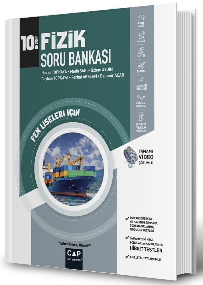 Çap Yayınları 10. Sınıf Fen Lisesi Fizik Soru Bankası