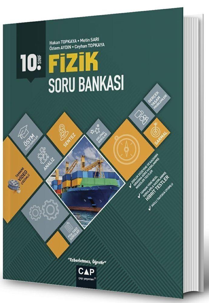 Çap Yayınları 10. Sınıf Anadolu Lisesi Fizik Soru Bankası