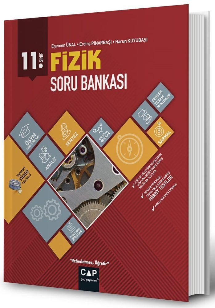 Çap Yayınları 11. Sınıf Anadolu Lisesi Fizik Soru Bankası