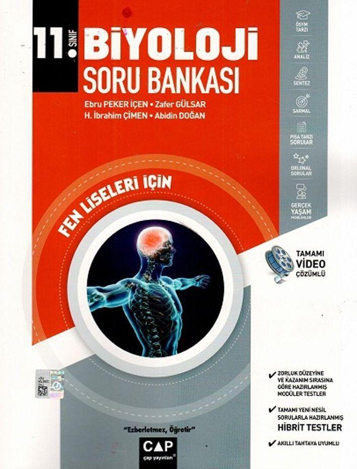 Çap Yayınları 11. Sınıf Biyoloji Fen Lisesi Soru Bankası