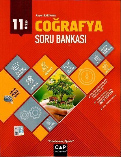 Çap Yayınları 11. Sınıf Anadolu Lisesi Coğrafya Soru Bankası