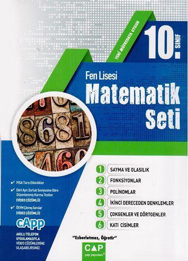Çap Yayınları 10. Sınıf Fen Lisesi Matematik Seti