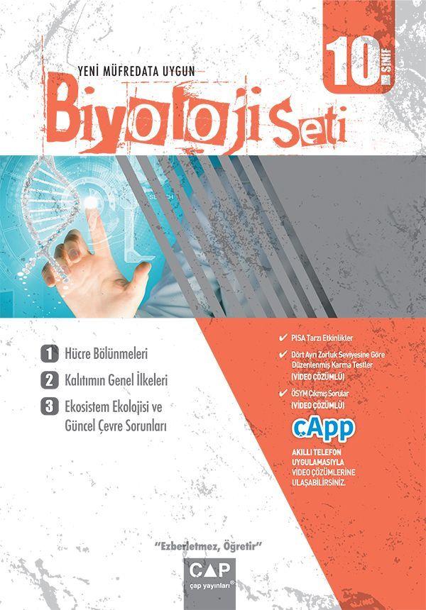 Çap Yayınları 10. Sınıf Anadolu Lisesi Biyoloji Seti