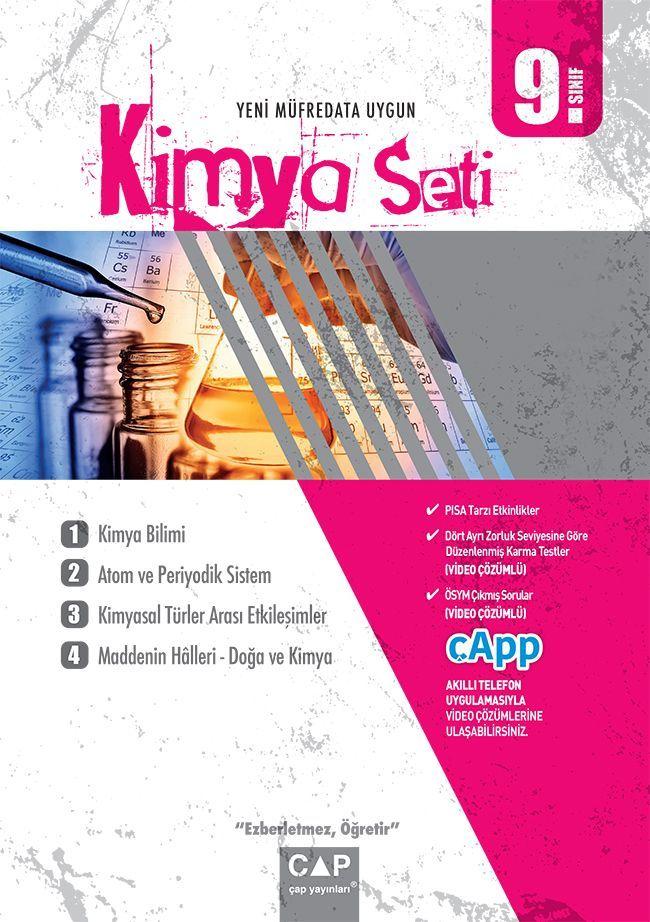 Çap Yayınları 9. Sınıf Anadolu Lisesi Kimya Seti