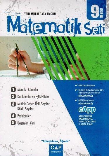 Çap Yayınları 9. Sınıf Matematik Seti