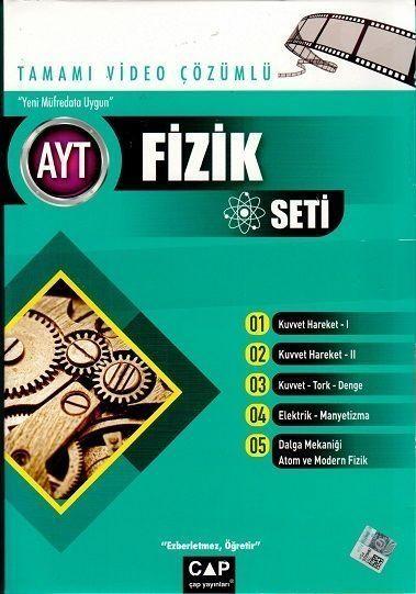 Çap Yayınları AYT Fizik Tamamı Video Çözümlü Seti