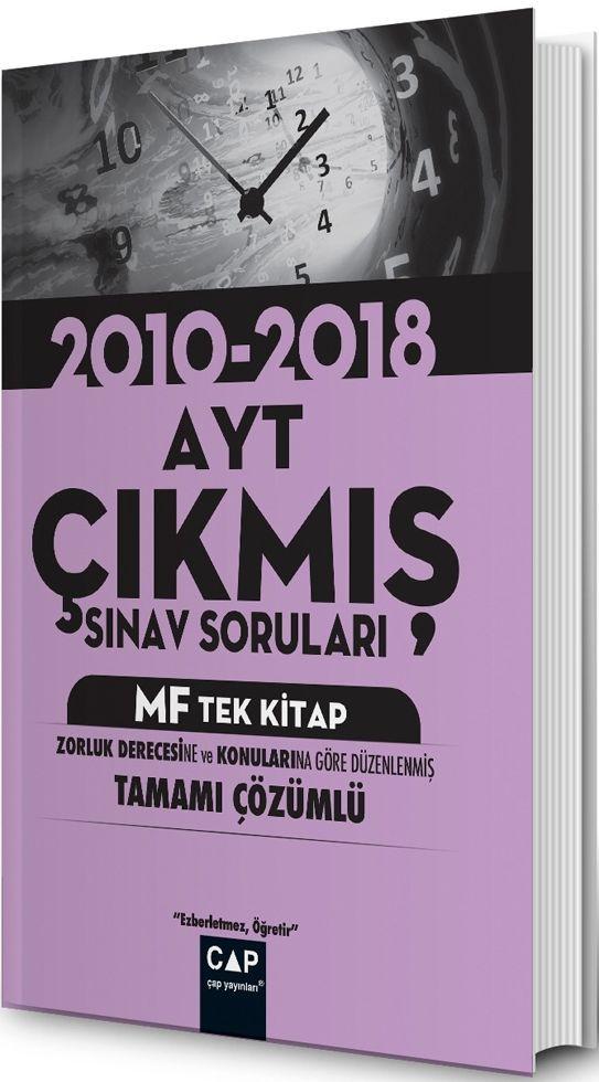 Çap Yayınları AYT MF Tek Kitap Çıkmış Sınav Soruları