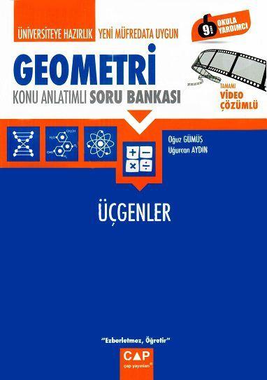 Çap Yayınları Üniversiteye Hazırlık Geometri Üçgenler Konu Anlatımlı Soru Bankası
