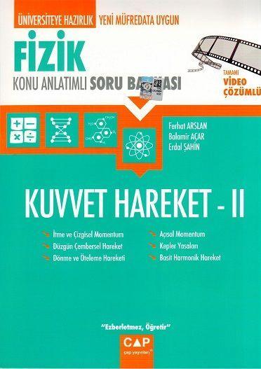 Çap Yayınları Fizik Kuvvet Hareket 2 Konu Anlatımlı Soru Bankası