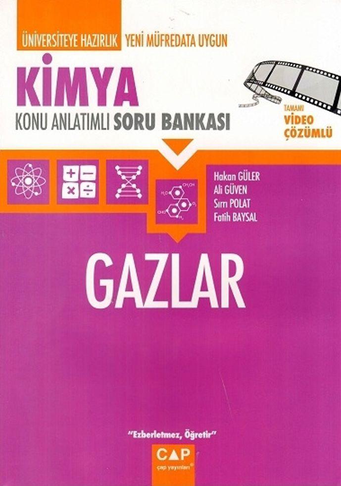 Çap Yayınları Kimya Gazlar Konu Anlatımlı Soru Bankası