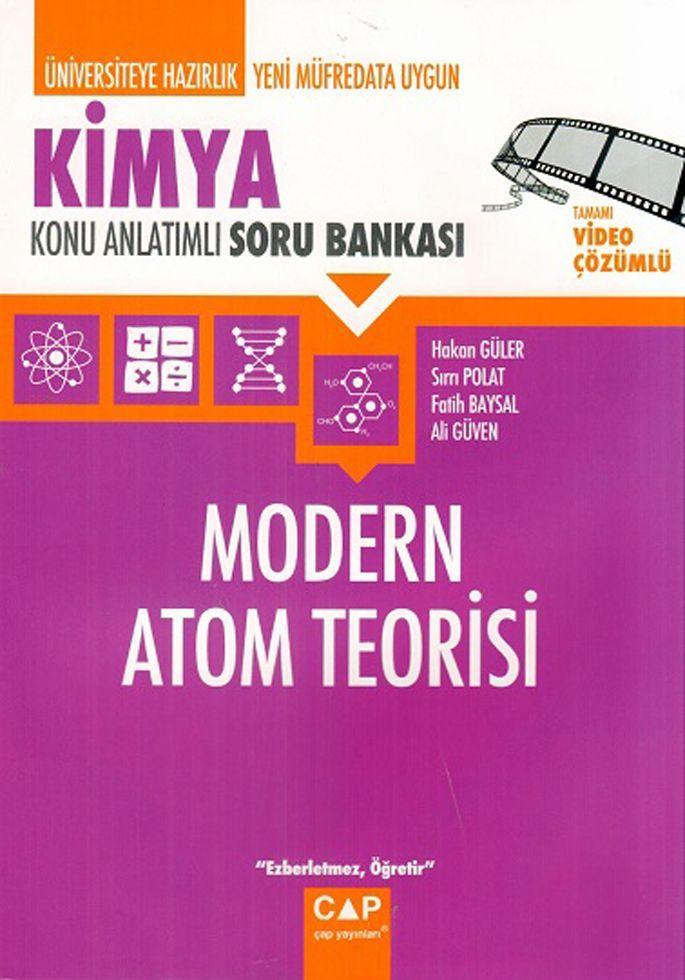 Çap Yayınları Kimya Modern Atom Teorisi Konu Anlatımlı Soru Bankası