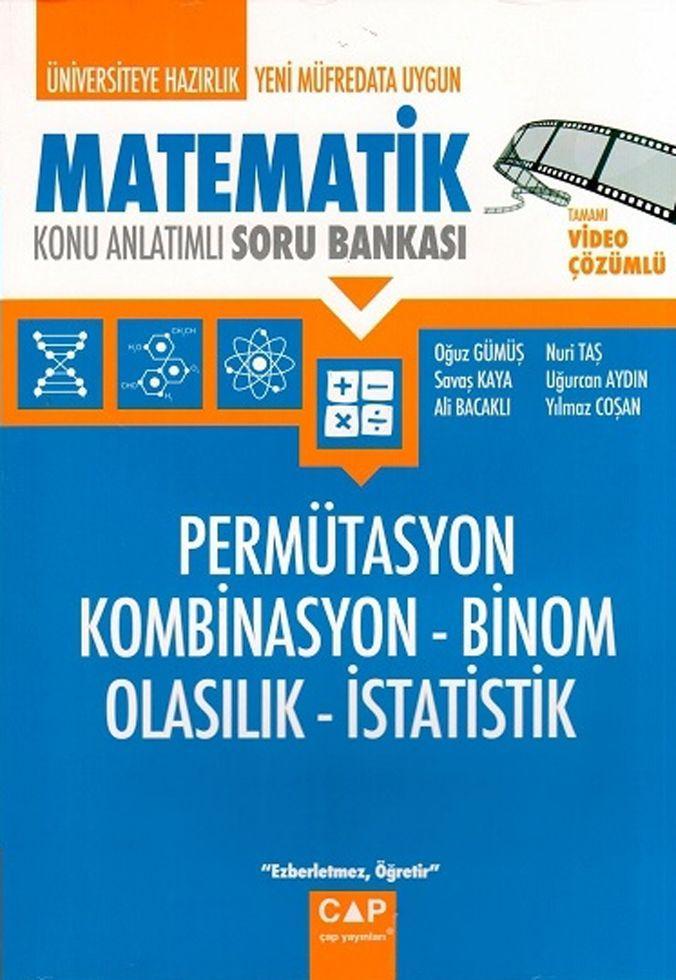 Çap Yayınları Matematik Permütasyon Kombinasyon Binom Olasılık İstatistik