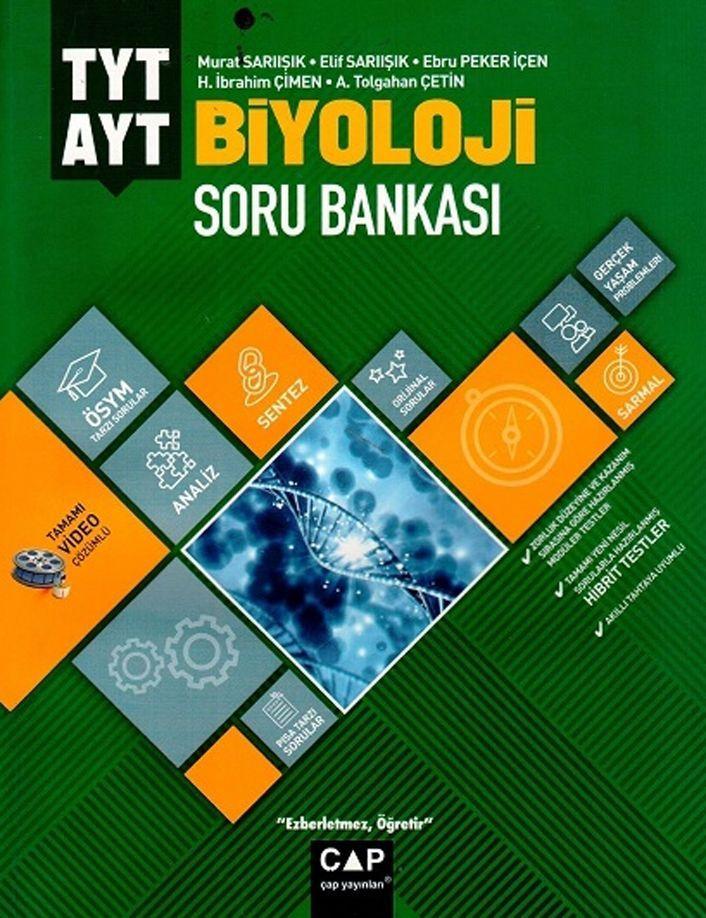 Çap Yayınları TYT AYT Biyoloji Soru Bankası