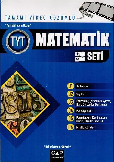Çap Yayınları TYT Matematik Seti