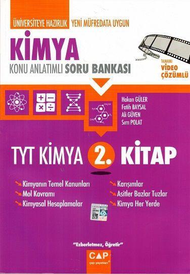 Çap Yayınları TYT Kimya 2. Kitap Konu Anlatımlı Soru Bankası