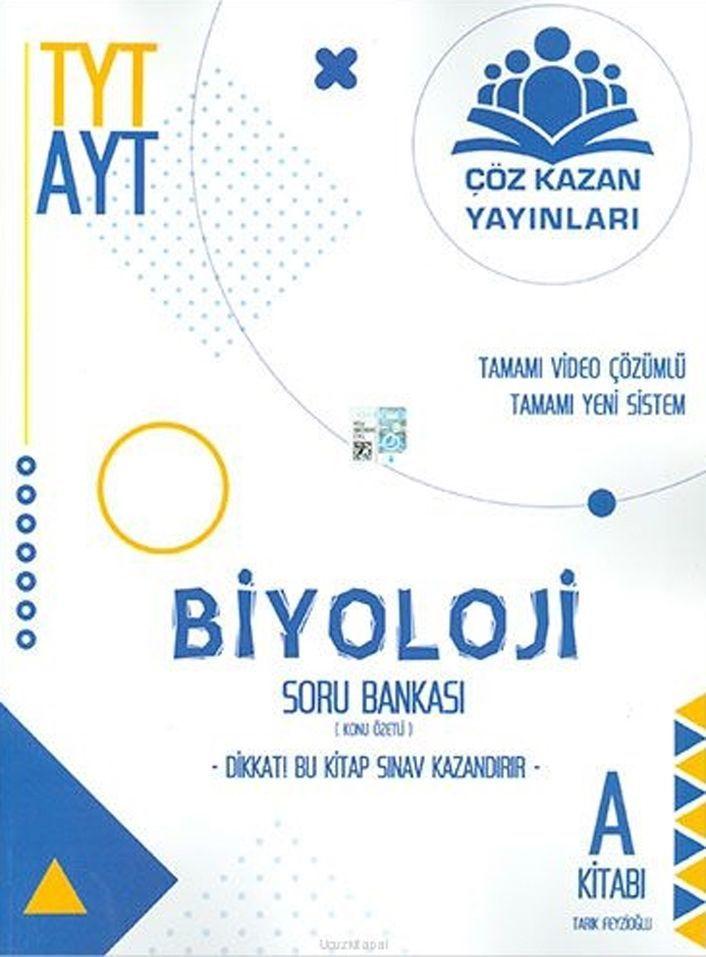 Çöz Kazan Yayınları TYT AYT Biyoloji Soru Bankası A Kitabı