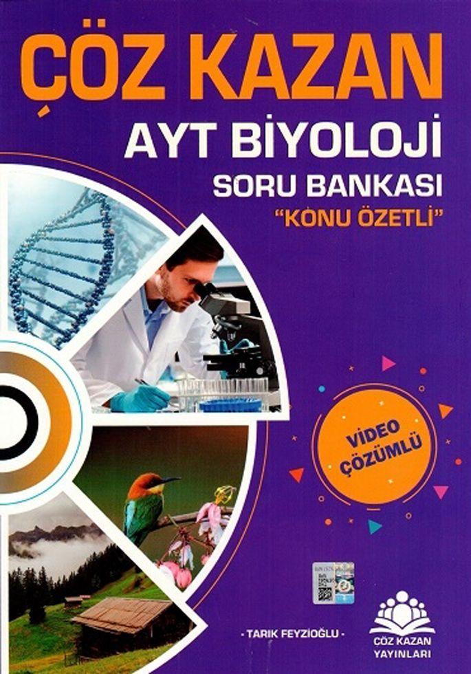 Çöz Kazan Yayınları AYT Biyoloji Konu Özetli Soru Bankası