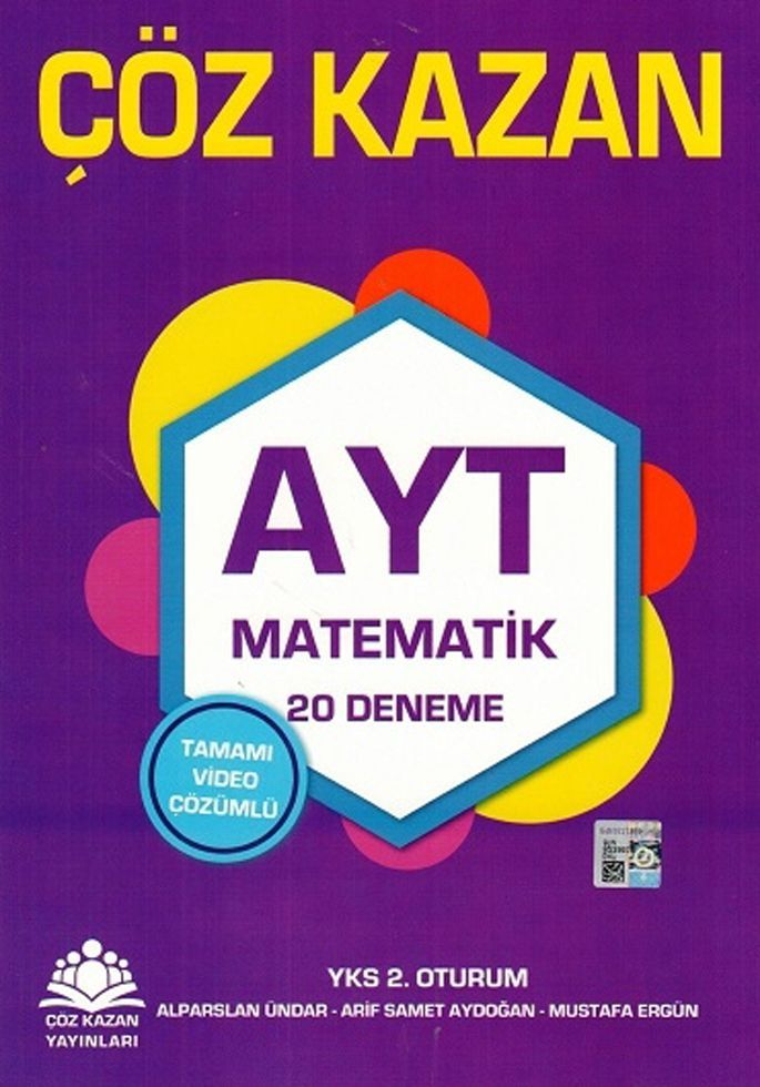 Çöz Kazan Yayınları AYT Matematik 20 Deneme