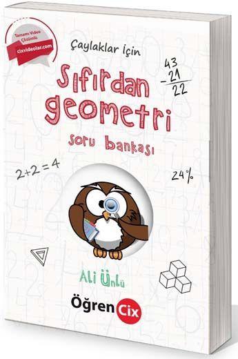 Öğrencix Yayınları Çaylaklar İçin Tamamı Video Çözümlü Sıfırdan Geometri