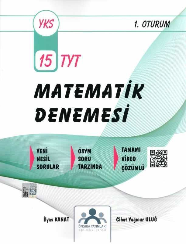 Önsıra Yayınları TYT Matematik 15 Denemesi