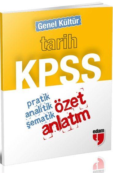 Özet Yayınları KPSS Genel Kültür Tarih Cep Özet Anlatım