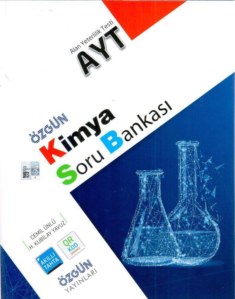 Özgün Yayınları AYT Organik Kimya Konu Özetli Soru Bankası