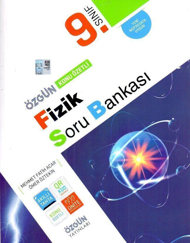 Özgün Yayınları 9. Sınıf Fizik Konu Özetli Soru Bankası