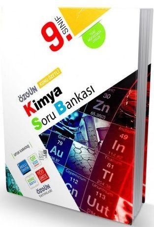 Özgün Yayınları 9. Sınıf Kimya Konu Özetli Soru Bankası