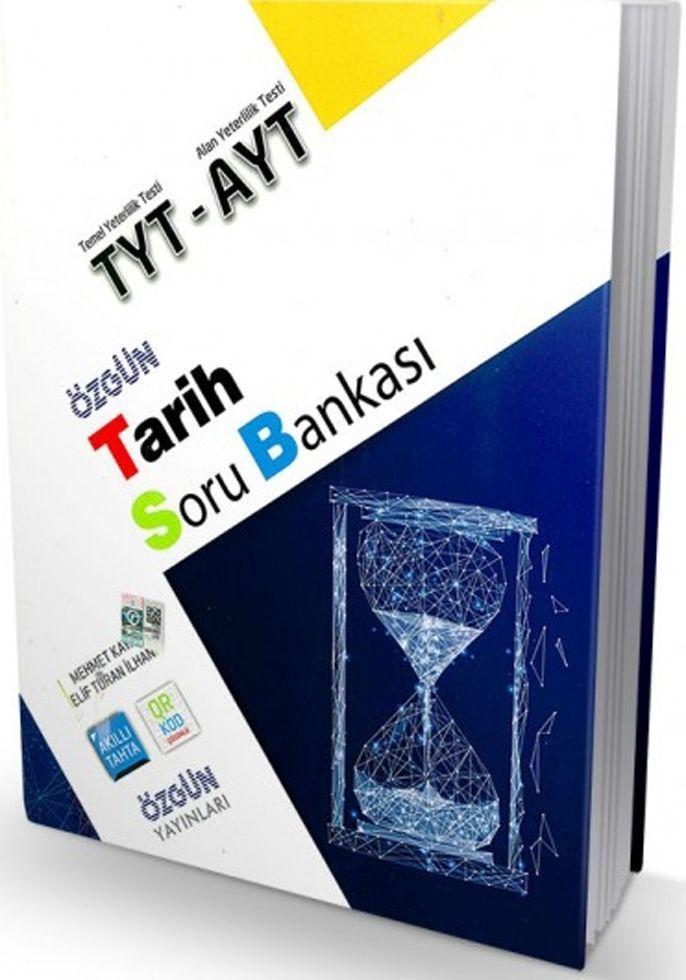 Özgün Yayınları TYT AYT Tarih Özgün Soru Bankası