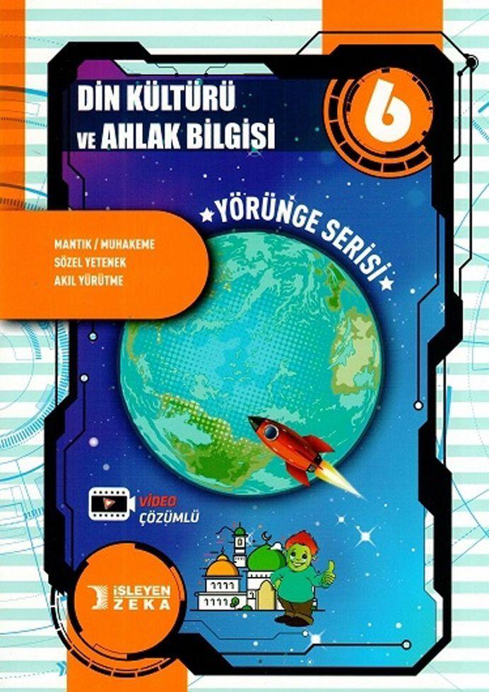 İşleyen Zeka 6. Sınıf Din Kültürü ve Ahlak Bilgisi Yörünge Serisi Soru Bankası