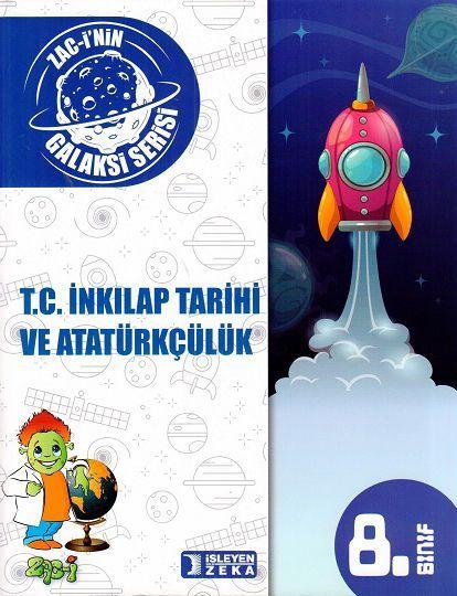 İşleyen Zeka 8. Sınıf T. C. İnkılap Tarihi ve Atatürkçülük Soru Bankası Galaksi Serisi