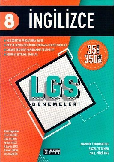 İşleyen Zeka Yayınları 8. Sınıf LGS İngilizce Denemeleri
